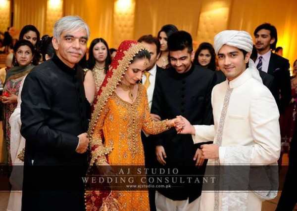 Javed Shaikh Son Shehzad Sheikh Wedding Pic 09