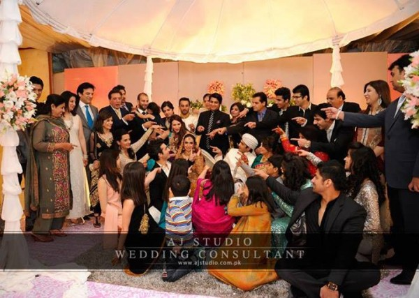 Javed Shaikh Son Shehzad Sheikh Wedding Pic 12