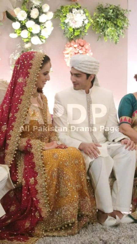 Javed Shaikh Son Shehzad Sheikh Wedding Pic 14