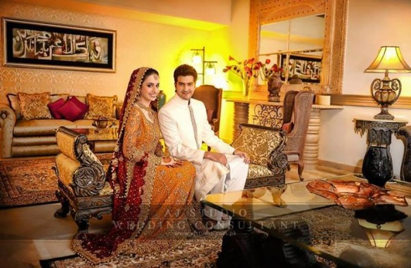 Javed Shaikh Son Shehzad Sheikh Wedding Pic 15