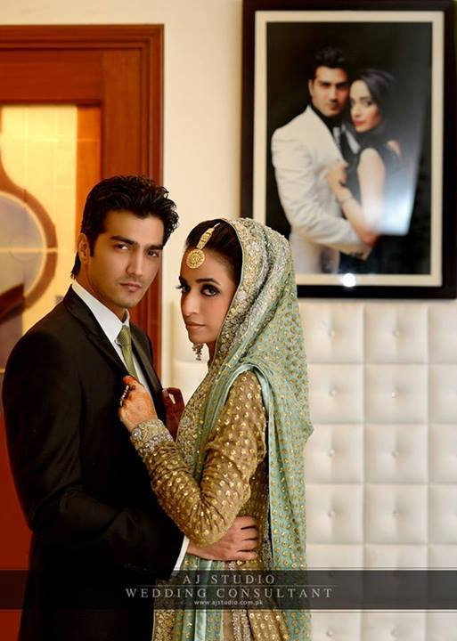 Javed Shaikh Son Shehzad Sheikh Wedding Pic 17