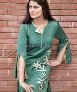 Khanumz Winter Dresses 2014 For Women 10