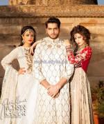 Maria B Wedding Wear Dresses 2014 For Boys and Girls 2