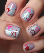 Nail Art Designs 2014 For Valentines Day 0020