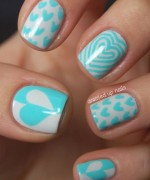 Nail Art Designs 2014 For Valentines Day 0021