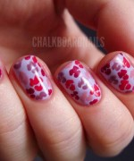 Nail Art Designs 2014 For Valentines Day 004