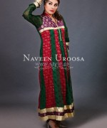 Naveen Uroosa Casual and Formal Dresses 2014 For Girls 2