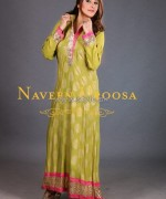 Naveen Uroosa Casual and Formal Dresses 2014 For Girls 3