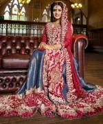 Pakistani Full Sleeve Wedding Dresses 2014 0018
