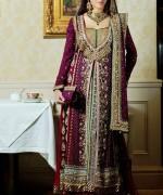 Pakistani Full Sleeve Wedding Dresses 2014 0019