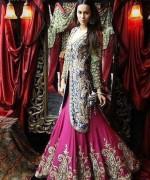 Pakistani Full Sleeve Wedding Dresses 2014 005
