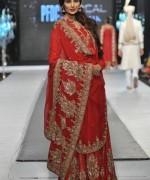 Pakistani Full Sleeve Wedding Dresses 2014 007