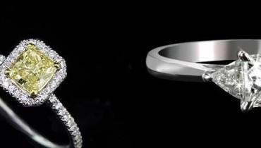 Princess Cut Diamond Rings in Pakistan