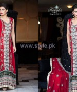 Ramsha Fashion Embroidered Dresses 2014 For Winter 6