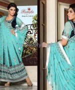 Ramsha Fashion Embroidered Dresses 2014 For Winter 8