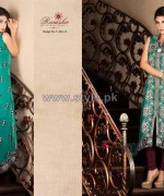 Ramsha Fashion Embroidered Dresses 2014 For Women 1