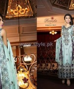 Ramsha Fashion Embroidered Dresses 2014 For Women 3