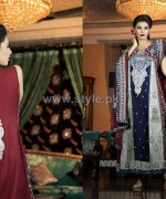 Ramsha Fashion Embroidered Dresses 2014 For Women 4