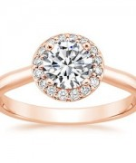 Rose Gold Engagement Rings005