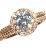 Rose Gold Engagement Rings007