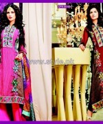 Salam's Textile Winter Dresses 2014 For Girls 2