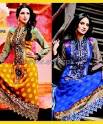Salam's Textile Winter Dresses 2014 For Girls 3