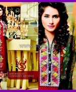 Salam's Textile Winter Dresses 2014 For Girls 4