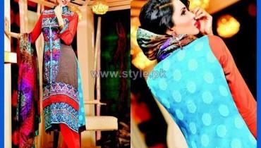 Salam's Textile Winter Dresses 2014 For Women 10