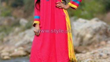 Satrangi by Saqib Casual Dresses 2014 For Women 7