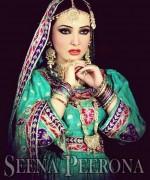 Seena Peerona Bridal Wear 2014 Dresses For Winter 7