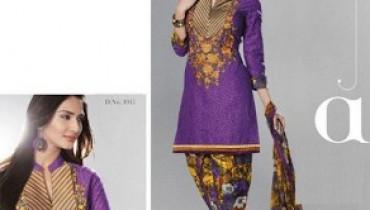 Shalwar Kameez Designs 2014 For Girls 001