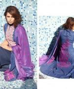 Shariq Textiles Subhata Linen Dresses 2014 for Women001