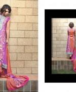Shariq Textiles Subhata Linen Dresses 2014 for Women002