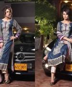 Shariq Textiles Subhata Linen Dresses 2014 for Women003