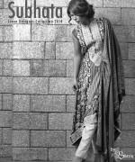 Shariq Textiles Subhata Linen Dresses 2014 for Women004
