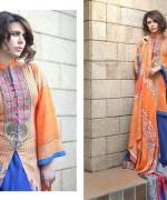 Shariq Textiles Subhata Linen Dresses 2014 for Women010