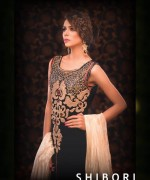 Shibori Formal Wear Collection 2014 For Ladies 001