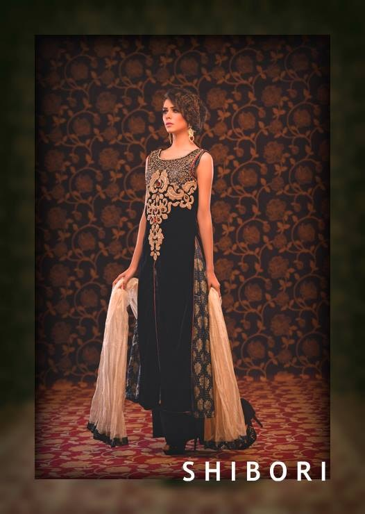Shibori Formal Wear Collection 2014 For Ladies 007