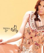 Teena by Hina Butt Party Wear 2014 for Women002