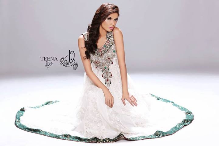 Teena by Hina Butt Party Wear 2014 for Women