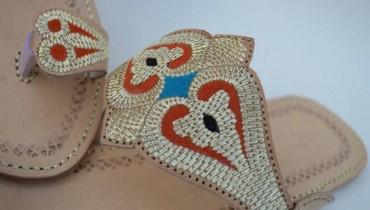 Zari Khussa Mahal Kolhapuri Shoes 2014 For Women 0017