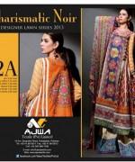 Ajwa Textile Lawn Dresses 2014 For Women 0011