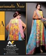 Ajwa Textile Lawn Dresses 2014 For Women 009