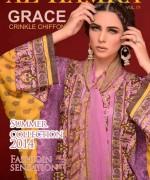 Al Hamra Textiles Spring Dresses 2014 for Women001
