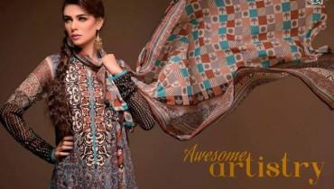 Al Hamra Textiles Spring Dresses 2014 for Women003
