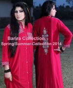 Barira Spring Summer Dresses 2014 For Girls 4