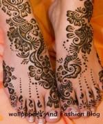 Beautiful Indian Mehndi Design For Girls 11