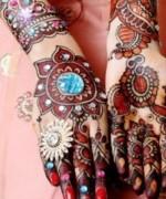 Beautiful Indian Mehndi Design For Girls 2