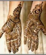 Beautiful Indian Mehndi Design For Girls 6