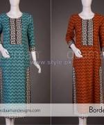 Daaman Spring Dresses 2014 For Girls 1